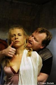 Marjorie (Julia Lowack) und Raoul (Wolfgang Haas)
