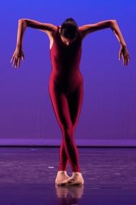 Nami Fujita in ihrem Solo Lacrima (Silber Tanzolymp 2013 Kategorie Modern)