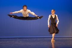 Shun Wada und Ada Ramzews in Lomir Tanzn
